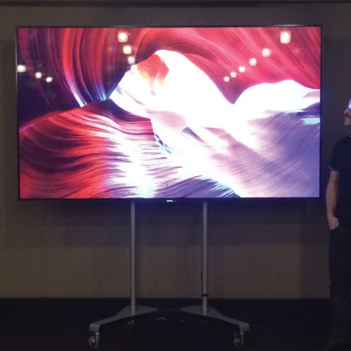 samsung-95-inch-led-screen-on-stand